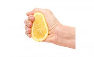 Squeeze orange
