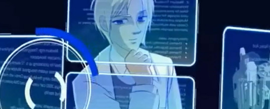 Explainer Animation Anime style animation to demonstrate software capabilities